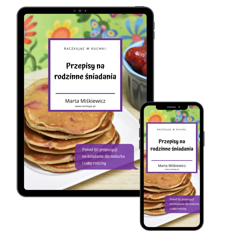 Okładka - eBook z przepisami na śniadania (tab + phone)